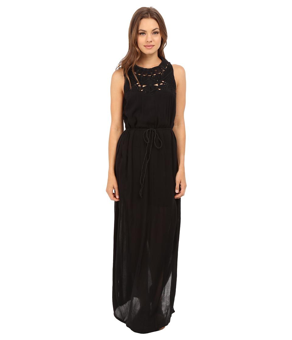 Roxy - Shining Sea Dress (True Black) Women's Dress