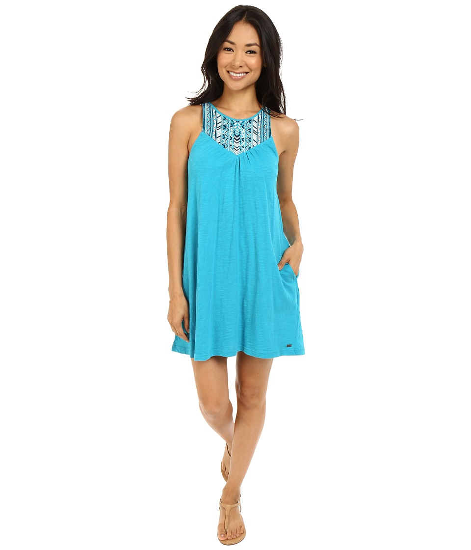 Roxy - Eastshore Dress (Enamel Blue) Women's Dress