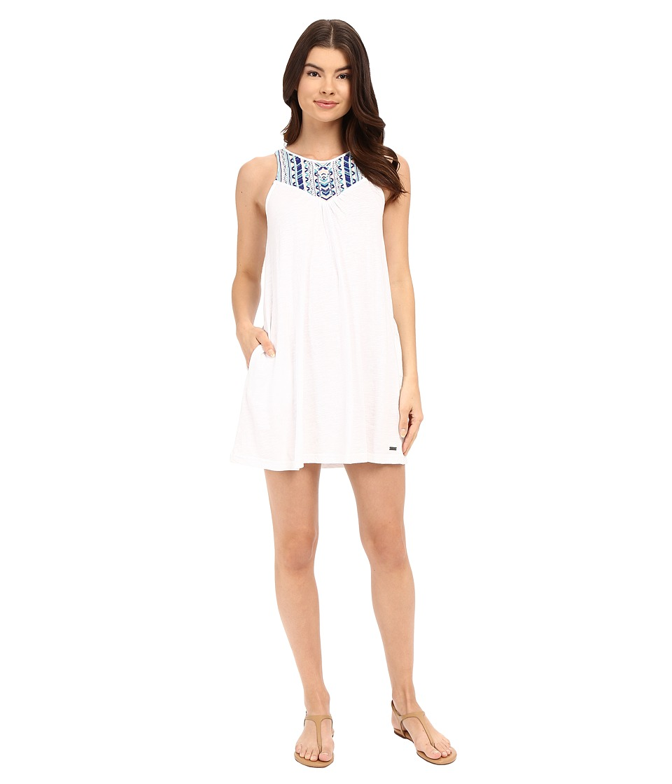 Roxy - Eastshore Dress (Bright White) Women's Dress