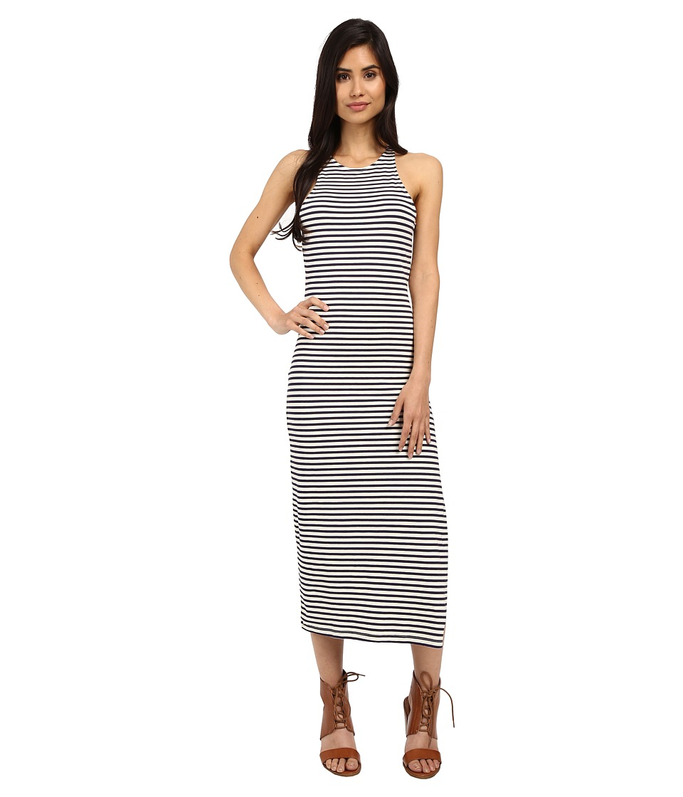 Roxy - Ano Nuevo Dress (Small Stripe Eclipse) Women
