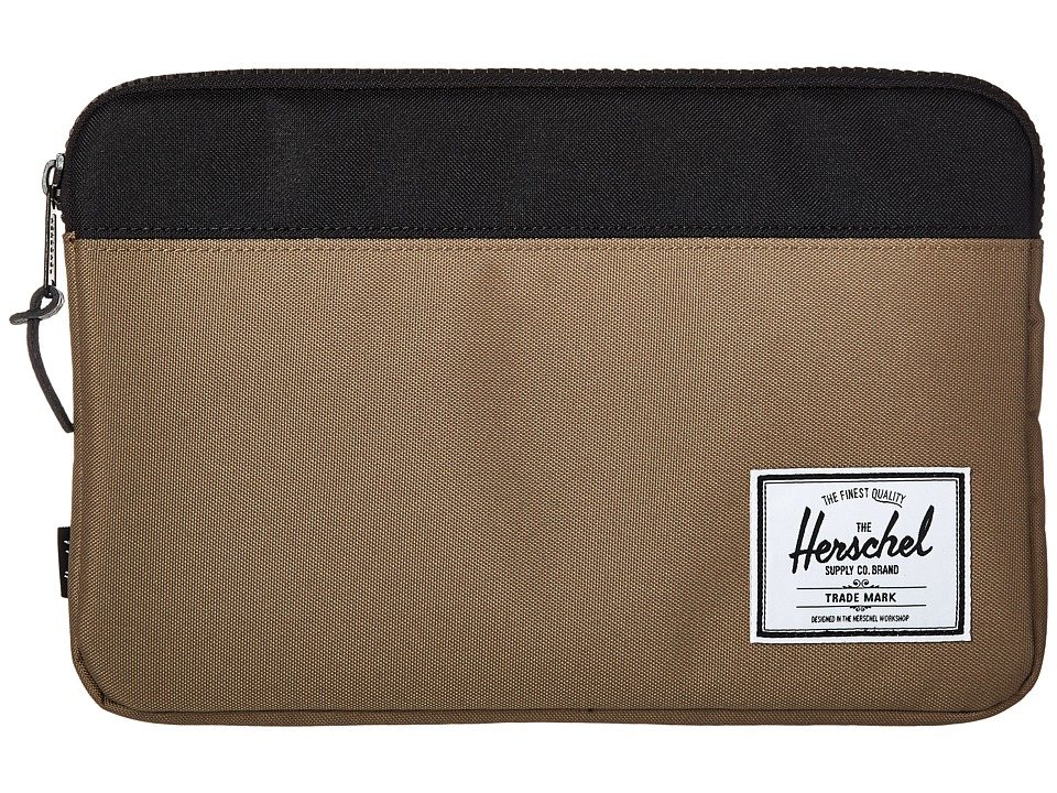 Herschel Supply Co. - Anchor Sleeve 11 (Lead Green/Black) Computer Bags