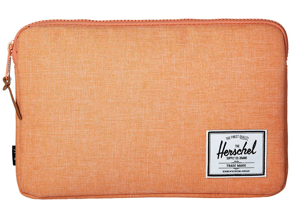 Herschel Supply Co. - Anchor Sleeve 11 (Nectarine Crosshatch) Computer Bags