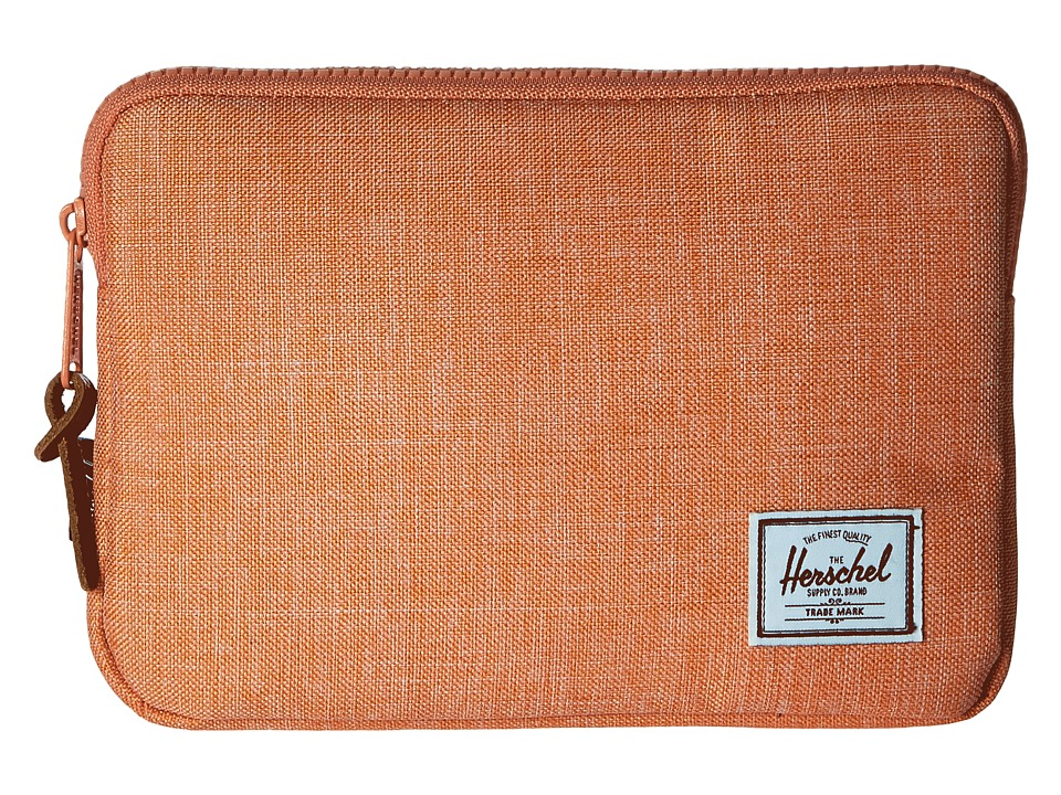 Herschel Supply Co. - Anchor Sleeve for iPad Mini (Nectarine Crosshatch) Computer Bags