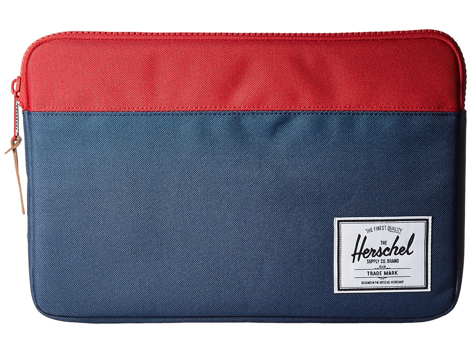 Herschel Supply Co. - Anchor Sleeve 12 (Navy/Red) Computer Bags