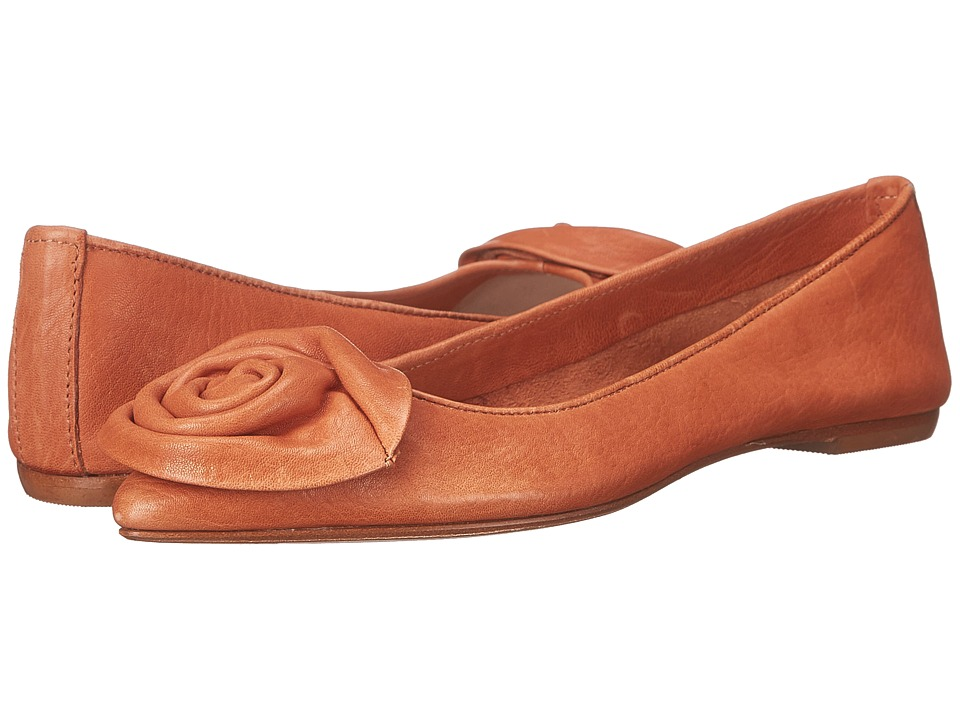 Massimo Matteo - Daniela (Cuoio) Women's Dress Flat Shoes