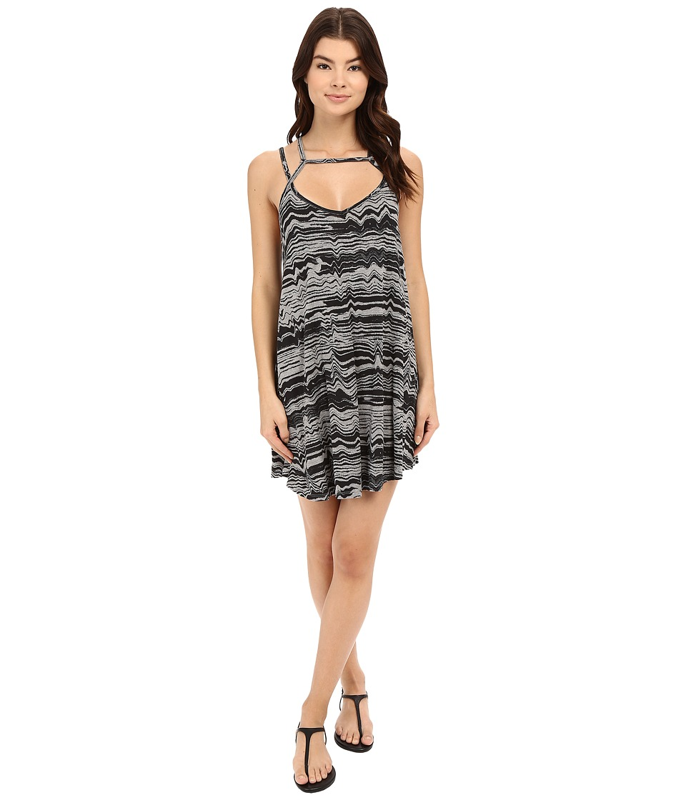 RVCA - Zavey Dress (Heather Grey) Women's Dress