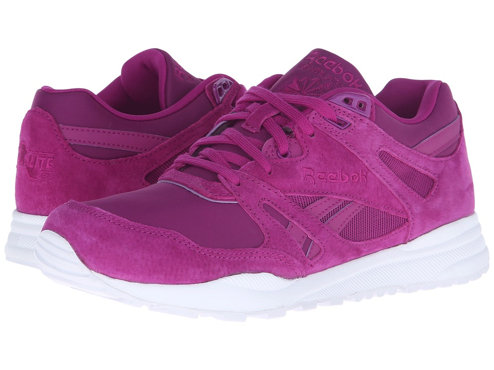 Reebok Lifestyle - Ventilator Summer Brights (Fierce Fuchsia/White) Women's Classic Shoes