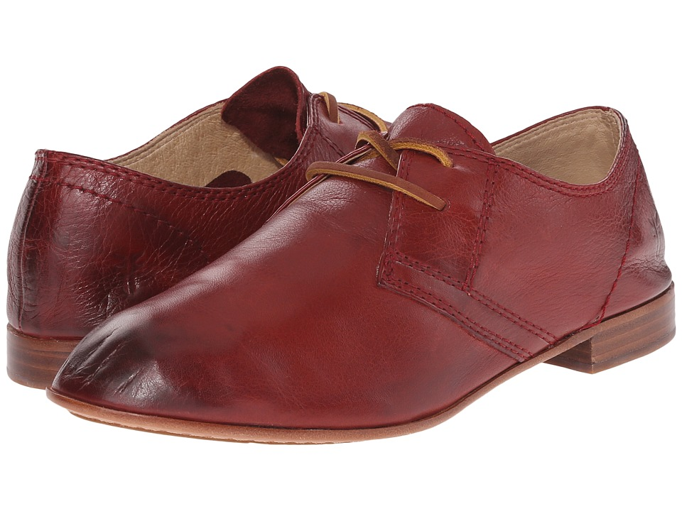 Frye - Jillian Oxford (Burnt Red) Women's Lace up casual Shoes