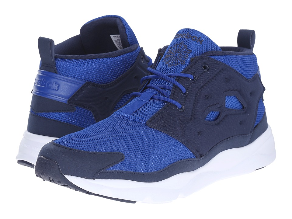 Reebok Lifestyle - Furylite Chukka (Collegiate Royal/Collegiate Navy/White) Men's Shoes