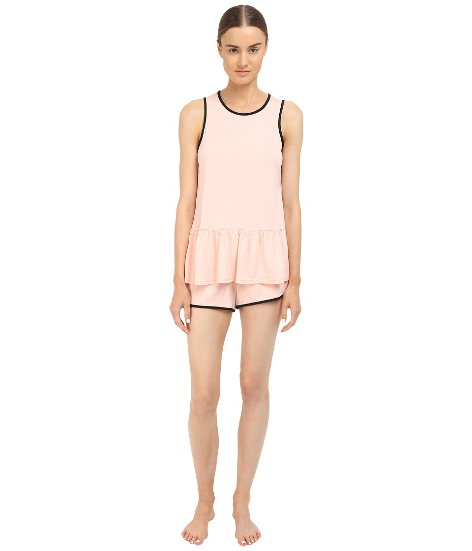 Kate Spade New York - Cotton w/ Modal Shorts PJ (Pink Sorbet) Women's Pajama Sets