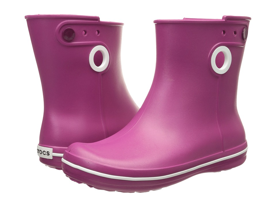 Crocs - Jaunt Shorty Boot (Berry) Women's Boots