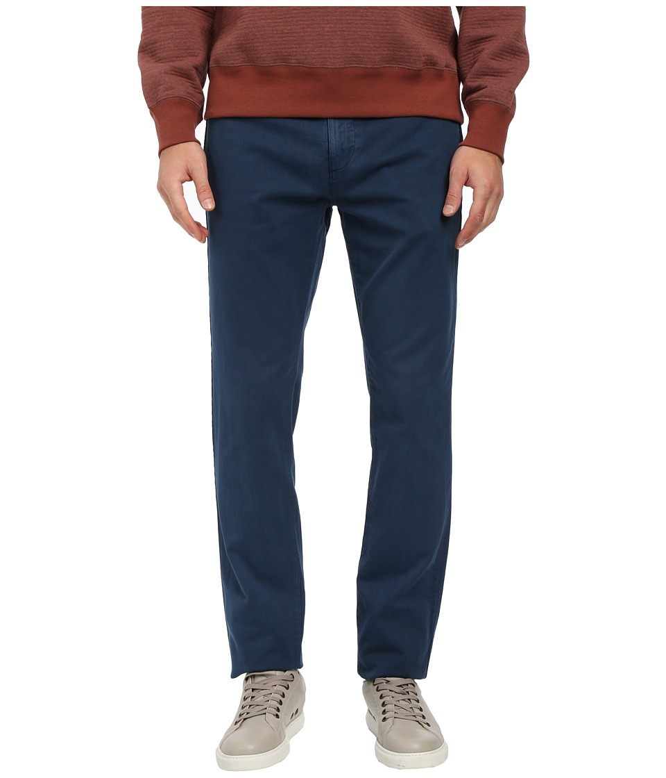 Billy Reid - Leonard Chino Corduroy (Wing Blue) Men's Casual Pants