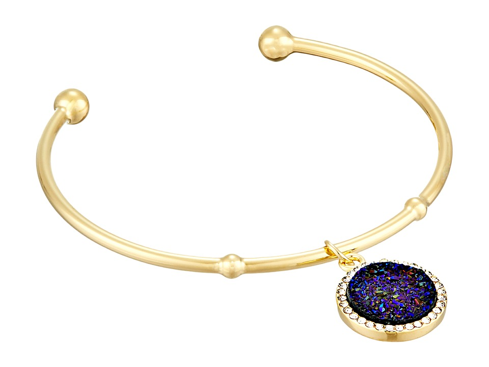 Kate Spade New York - All That Glitters Druzy Cuff Bracelet (Blueiolite) Bracelet