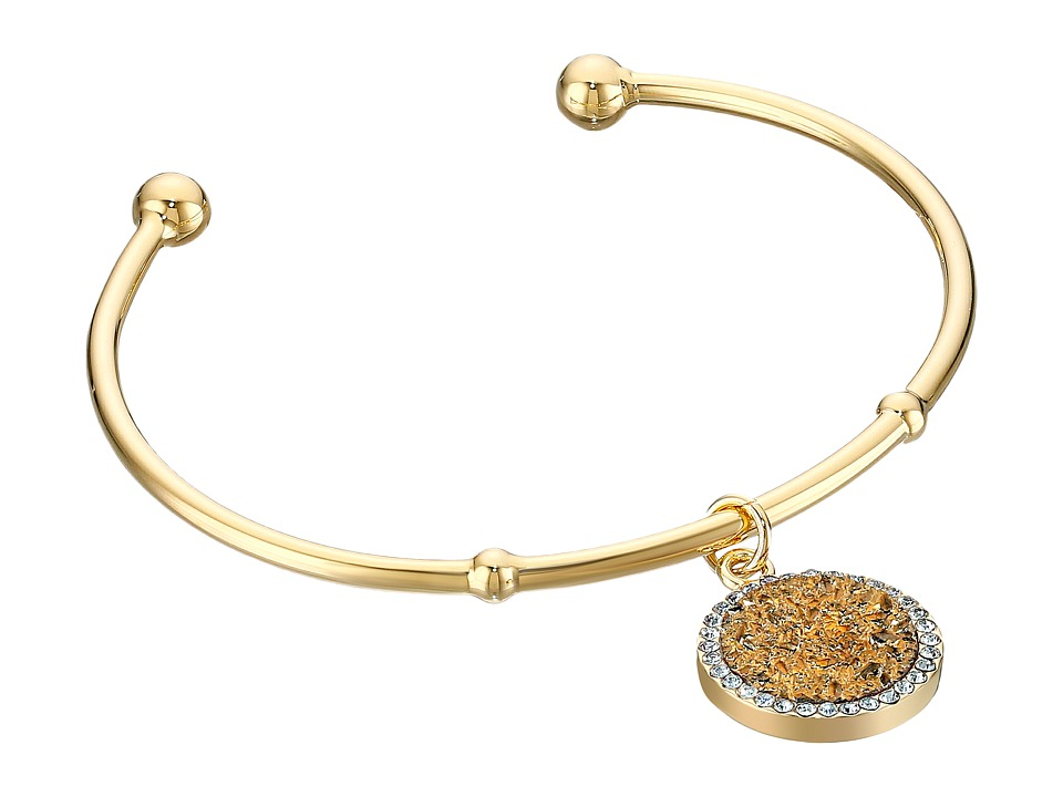 Kate Spade New York - All That Glitters Druzy Cuff Bracelet (Gold) Bracelet