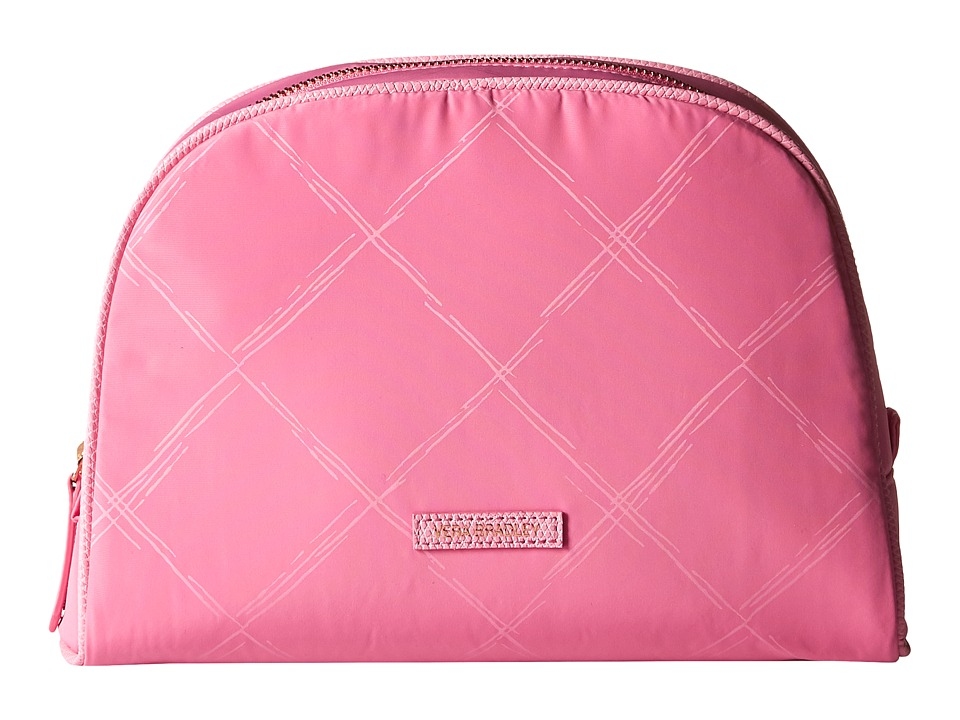 Vera Bradley - Preppy Poly Large Cosmetic (Blossom Pink) Cosmetic Case