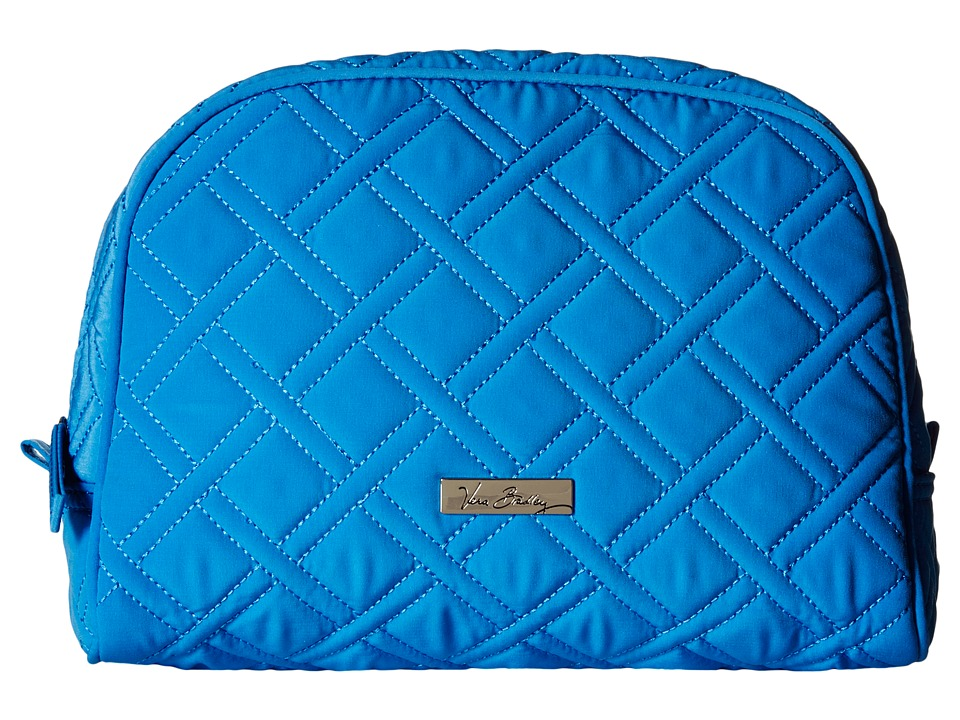 Vera Bradley Luggage - Large Zip Cosmetic (Coastal Blue) Cosmetic Case