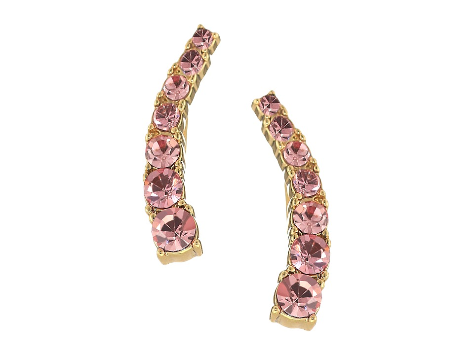 Kate Spade New York - Dainty Sparklers Ear Pin (Light Rose) Earring