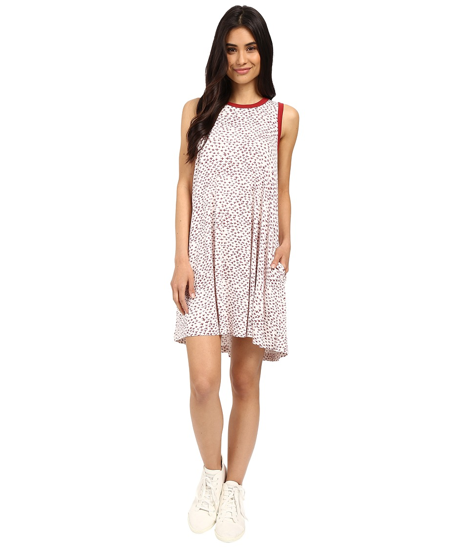 RVCA Rena Dress (Red) Women
