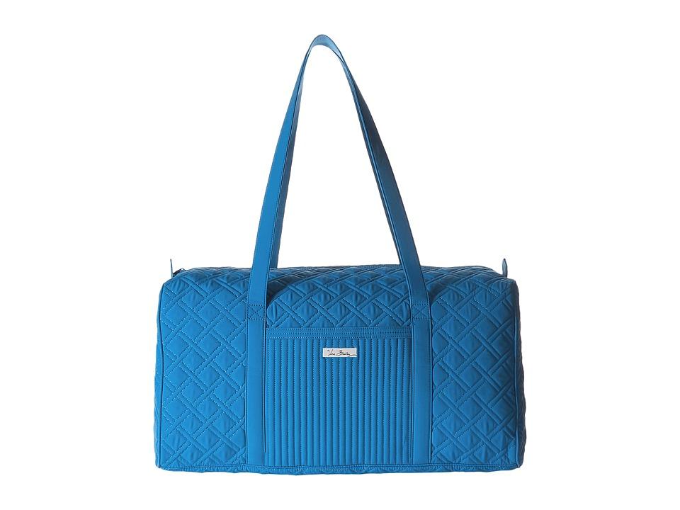 Vera Bradley Luggage - Large Duffel (Coastal Blue) Duffel Bags