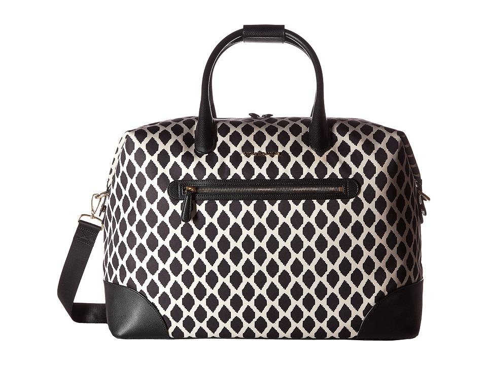 Vera Bradley Luggage - Travel Duffel (Ikat Spots/Black) Duffel Bags