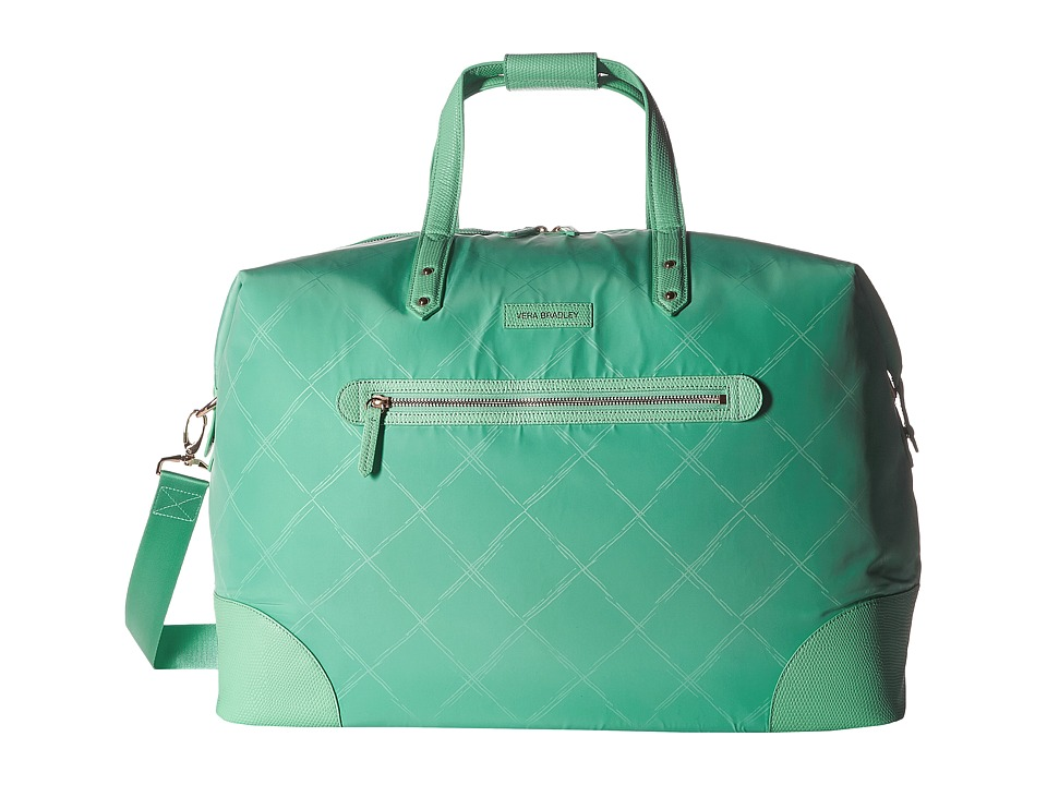 Vera Bradley Luggage - Preppy Poly Travel Duffel (Mint) Duffel Bags