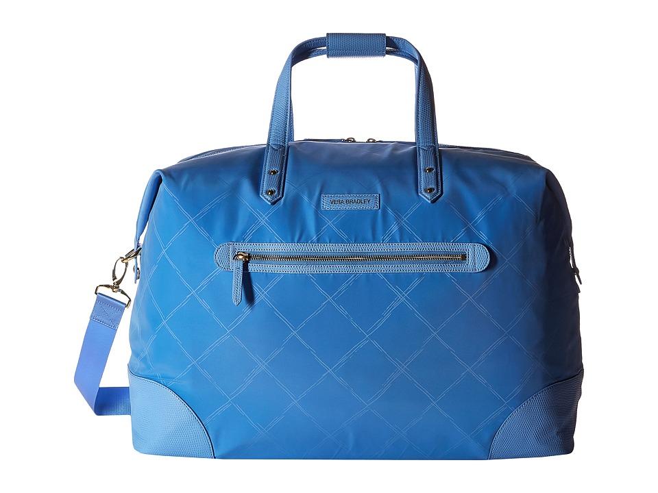 Vera Bradley Luggage - Preppy Poly Travel Duffel (Sky Blue) Duffel Bags