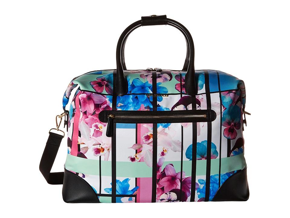 Vera Bradley Luggage - Travel Duffel (Exotic Floral/Black) Duffel Bags
