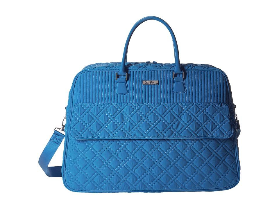 Vera Bradley Luggage - Grand Traveler (Coastal Blue) Duffel Bags