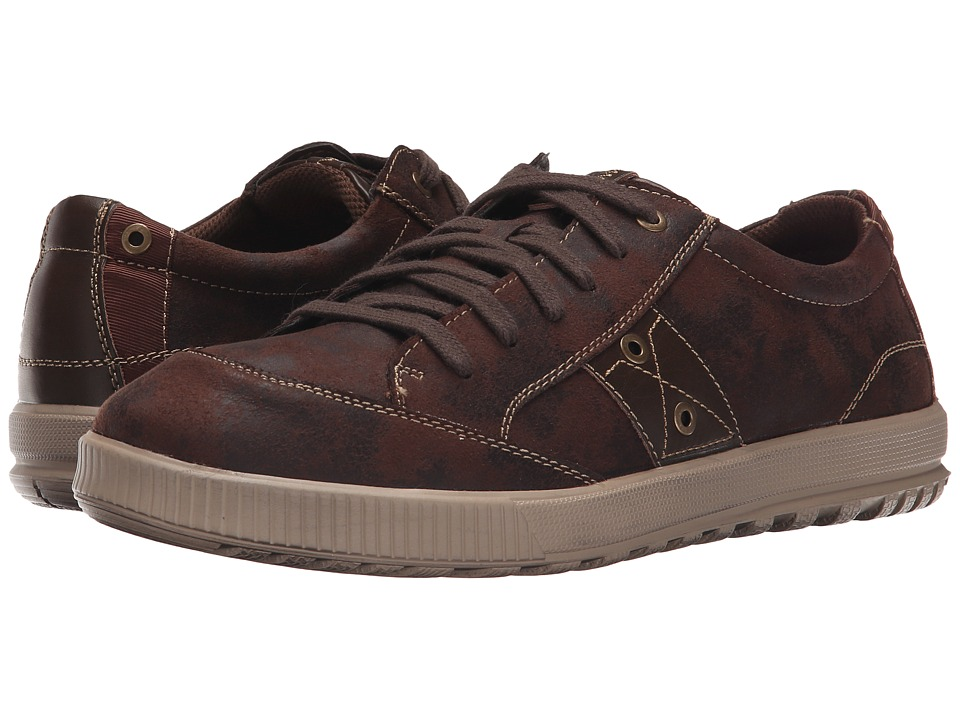 Deer Stags - Holmes (Dark Brown) Men's Lace up casual Shoes