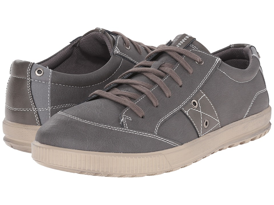 Deer Stags - Holmes (Grey) Men's Lace up casual Shoes