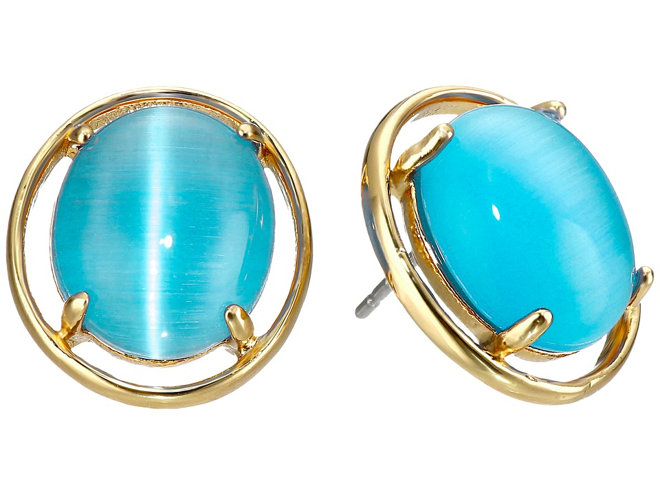 Kate Spade New York - Open Rim Studs Earrings (Turquoise) Earring