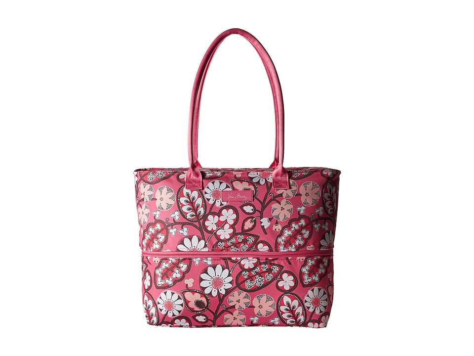 Vera Bradley Luggage - Lighten Up Expandable Travel Tote (Blush Pink) Tote Handbags