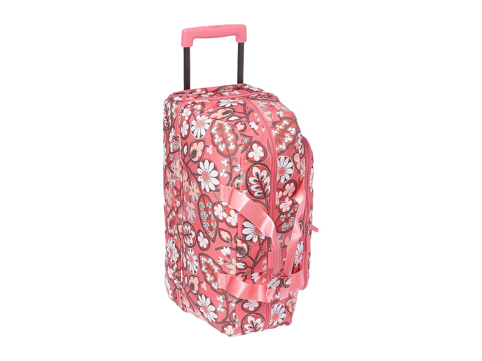 Vera Bradley Luggage - Lighten Up Wheeled Carry-on (Blush Pink) Carry on Luggage