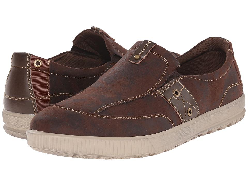 Deer Stags - Johnson (Dark Brown) Men's Shoes