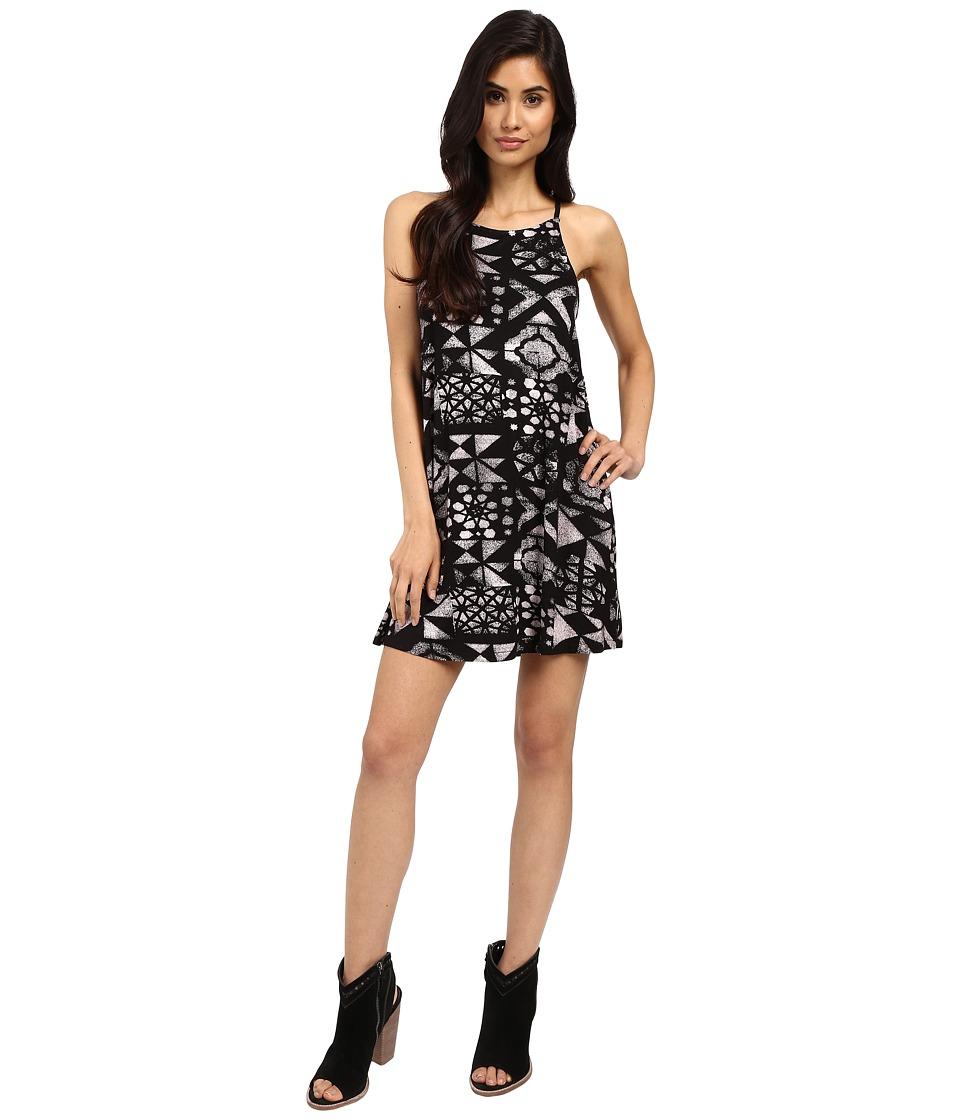 RVCA - Elixir Dress (Black) Women's Dress