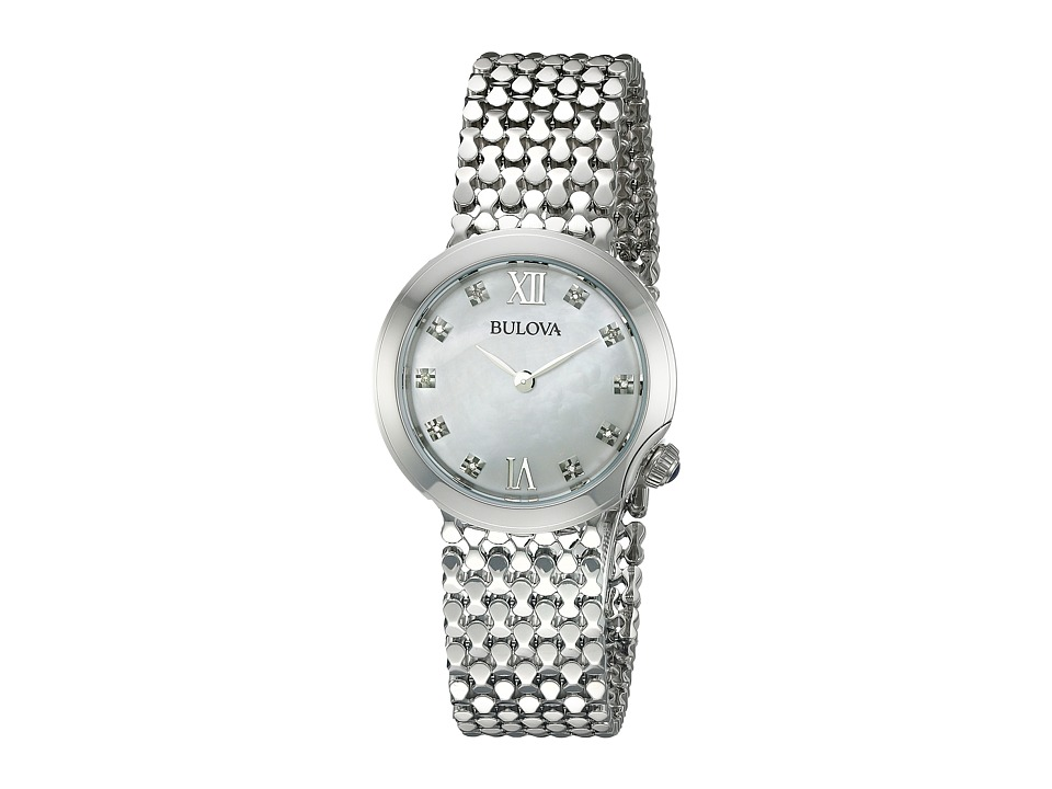 Bulova - Diamonds - 96P163 (White) Watches