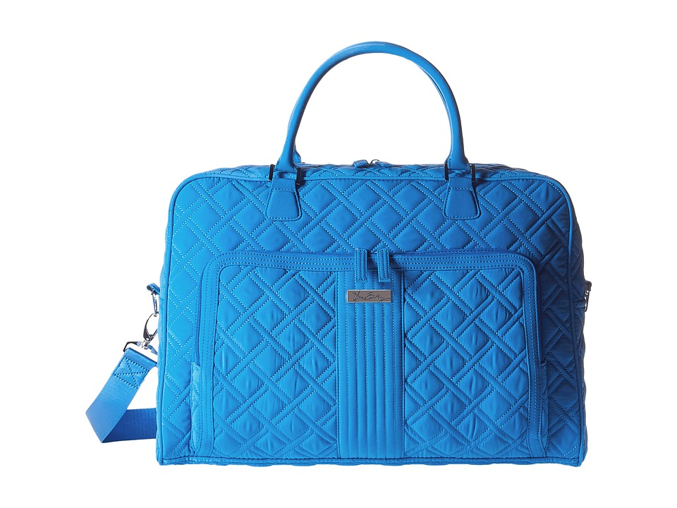 Vera Bradley Luggage - Weekender (Coastal Blue) Bags