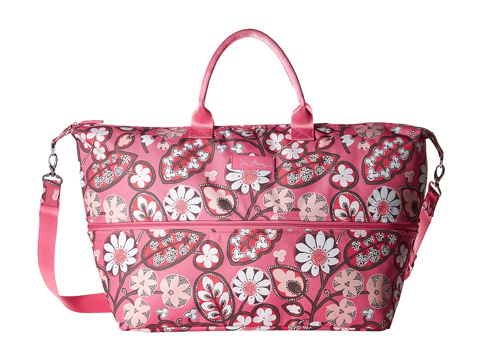Vera Bradley Luggage - Lighten Up Expandable Travel Bag (Blush Pink) Bags