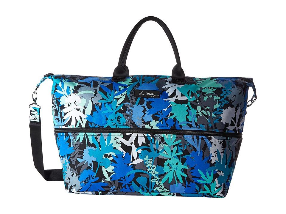 Vera Bradley Luggage - Lighten Up Expandable Travel Bag (Camo Floral) Bags