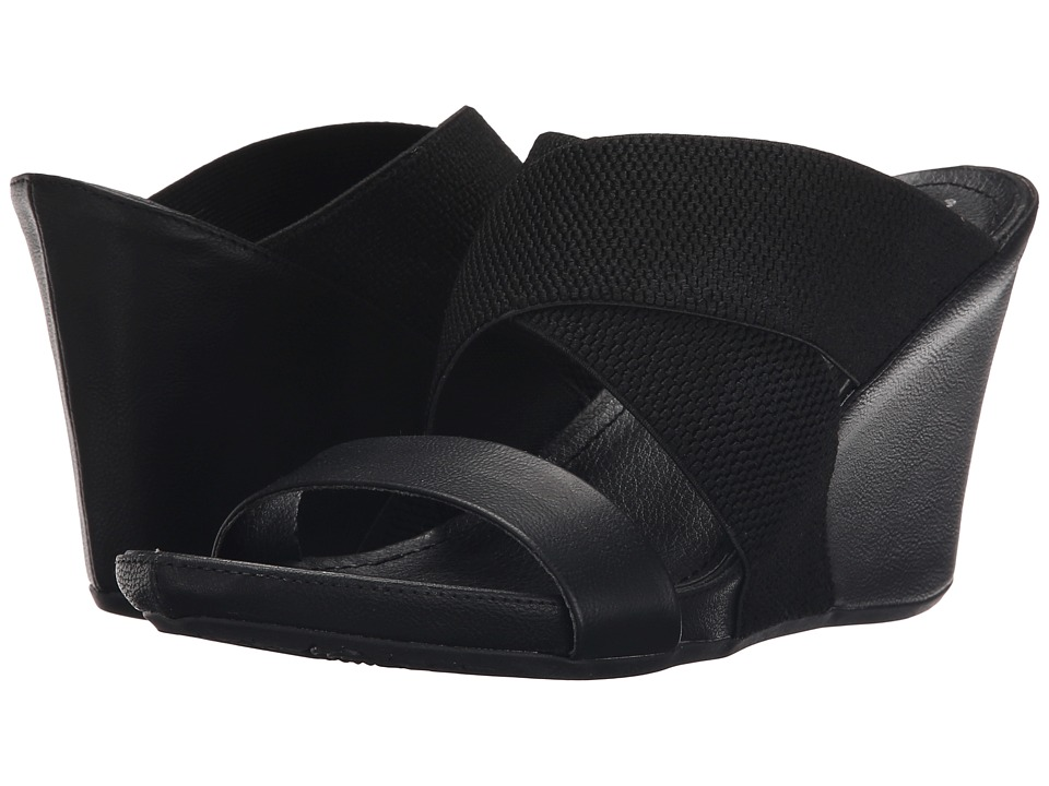 Kenneth Cole Unlisted - Cob Web (Black) Women's Wedge Shoes