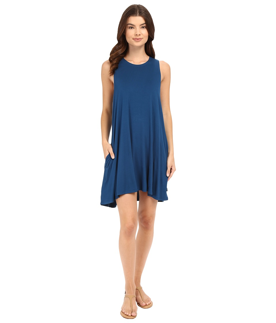 RVCA - Sucker Punch 2 Dress (Deep Sea Blue) Women's Dress