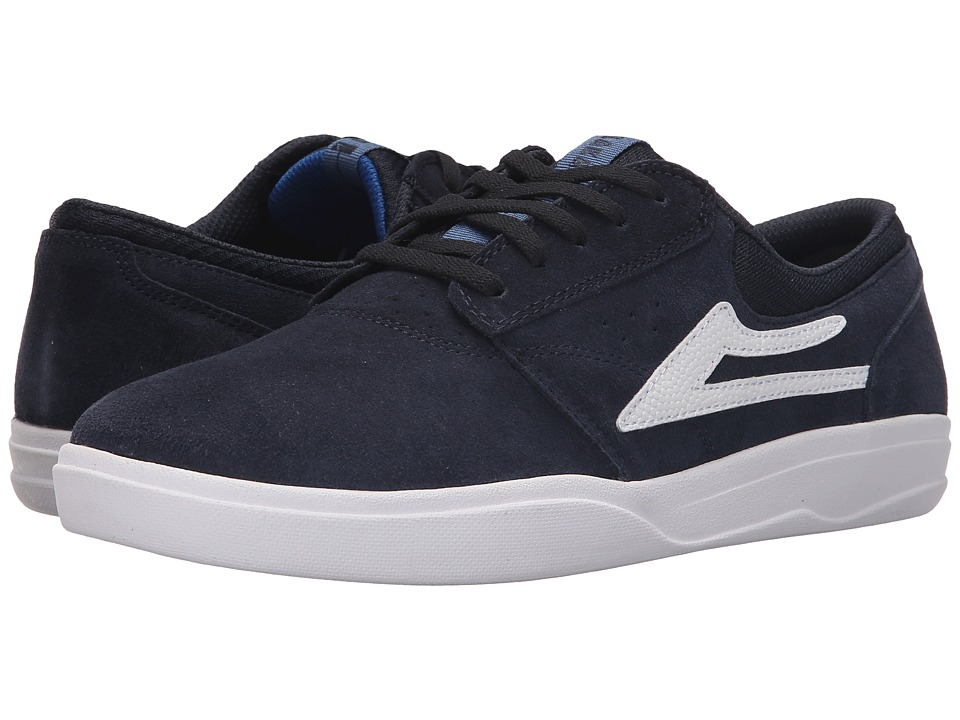 Lakai - Griffin XLK (Navy Suede) Men's Skate Shoes