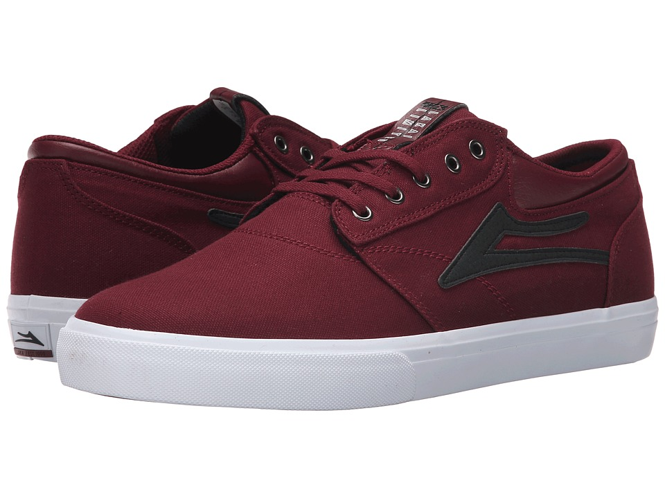 Lakai - Griffin (Port Canvas/Black) Men's Skate Shoes