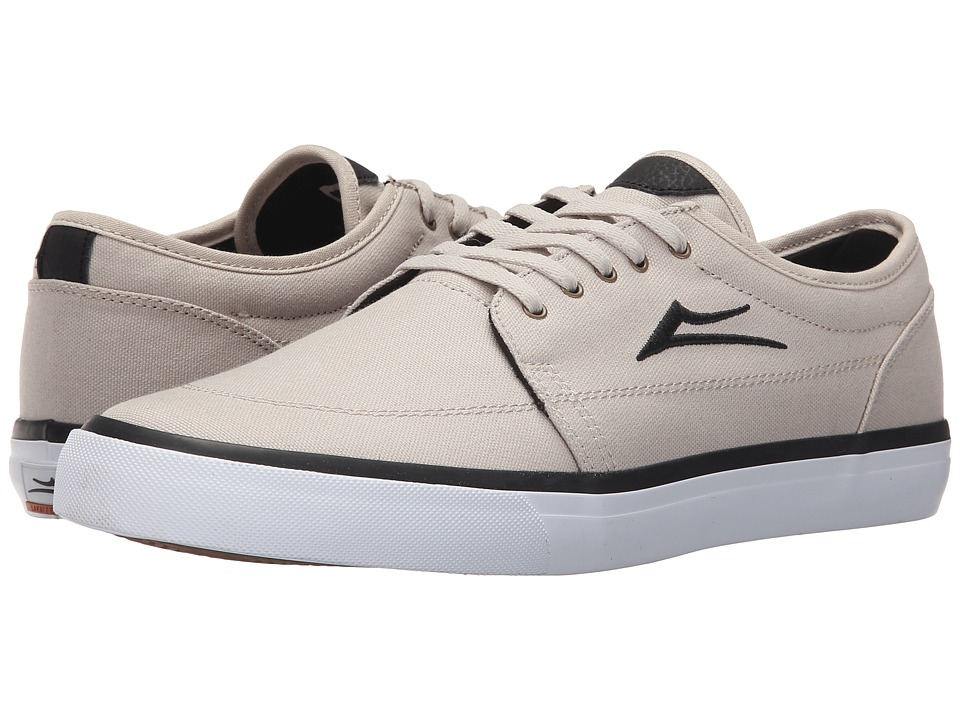 Lakai - Madison (Cream Canvas) Men's Skate Shoes