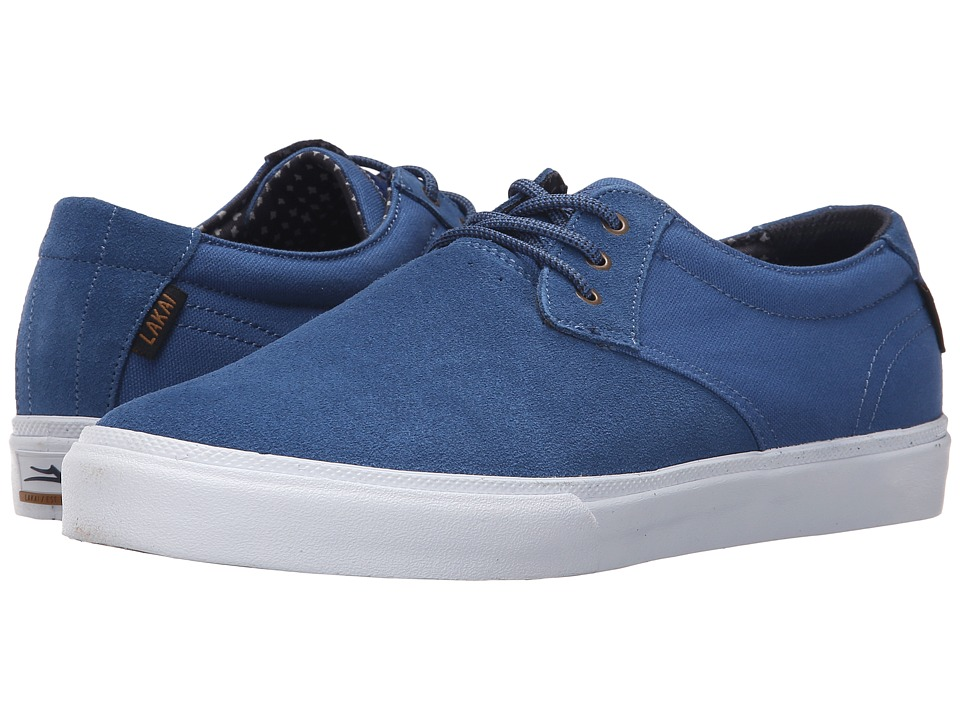 Lakai - MJ (Blue Suede) Men's Skate Shoes
