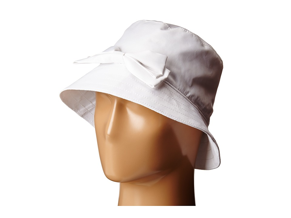 Kate Spade New York - Multi Month Rain Bucket Hat (Fresh White) Bucket Caps