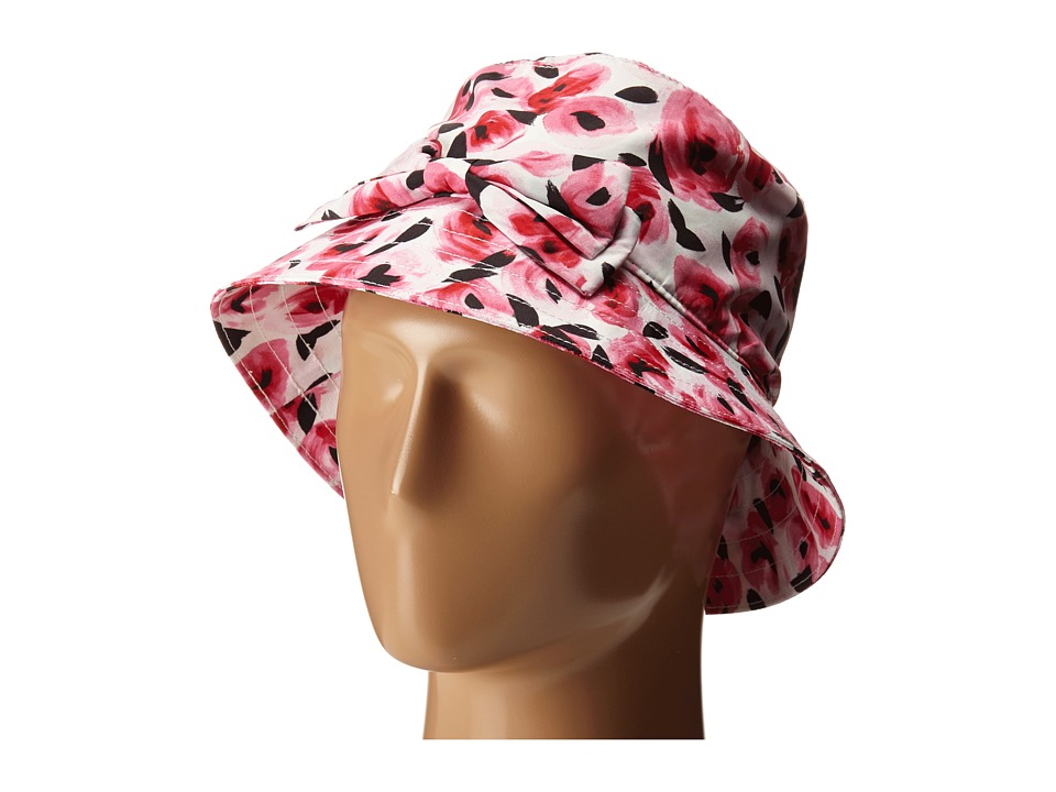 Kate Spade New York - Printed Rain Bucket Hat (Cream) Bucket Caps