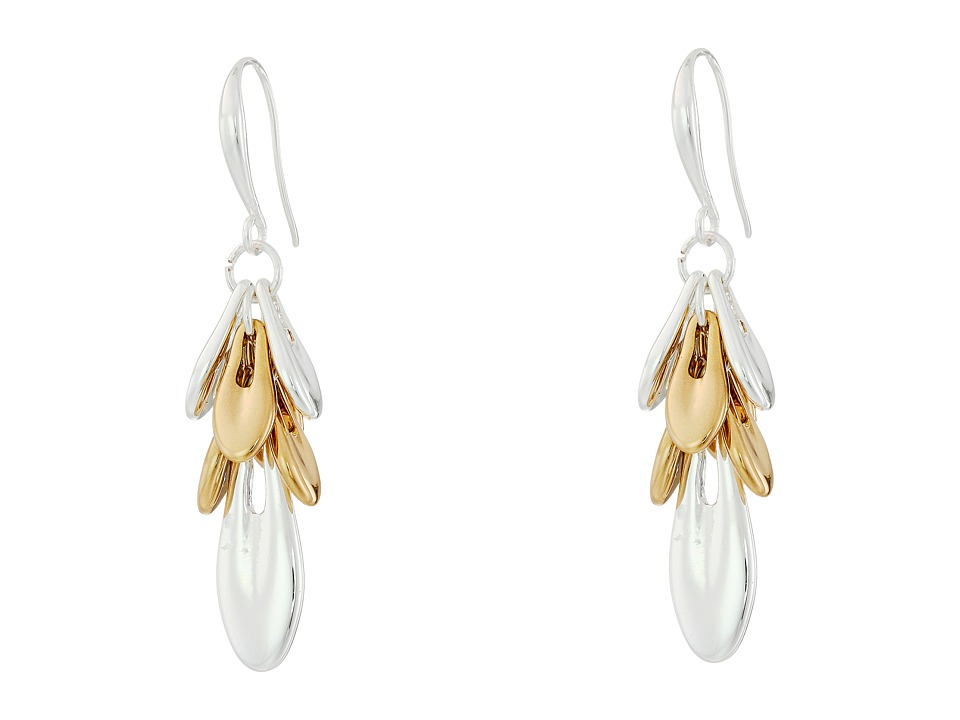 Robert Lee Morris - Two-Tone Shaky Drop Earrings (Two-Tone) Earring