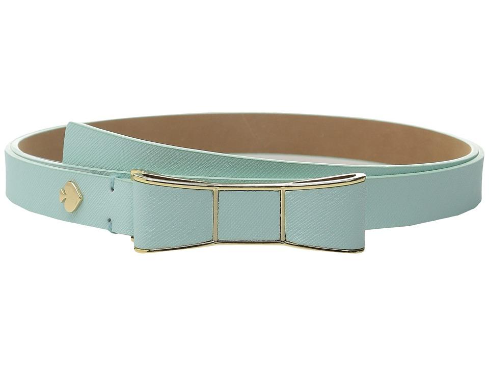 Kate Spade New York - 20mm Bow Belt (Fresh Mint) Women's Belts