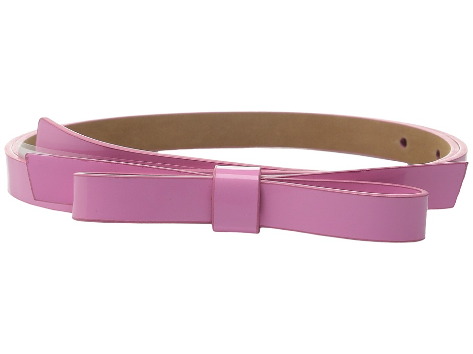 Kate Spade New York - 16mm Classic Bow Belt (Carousel Pink) Women's Belts